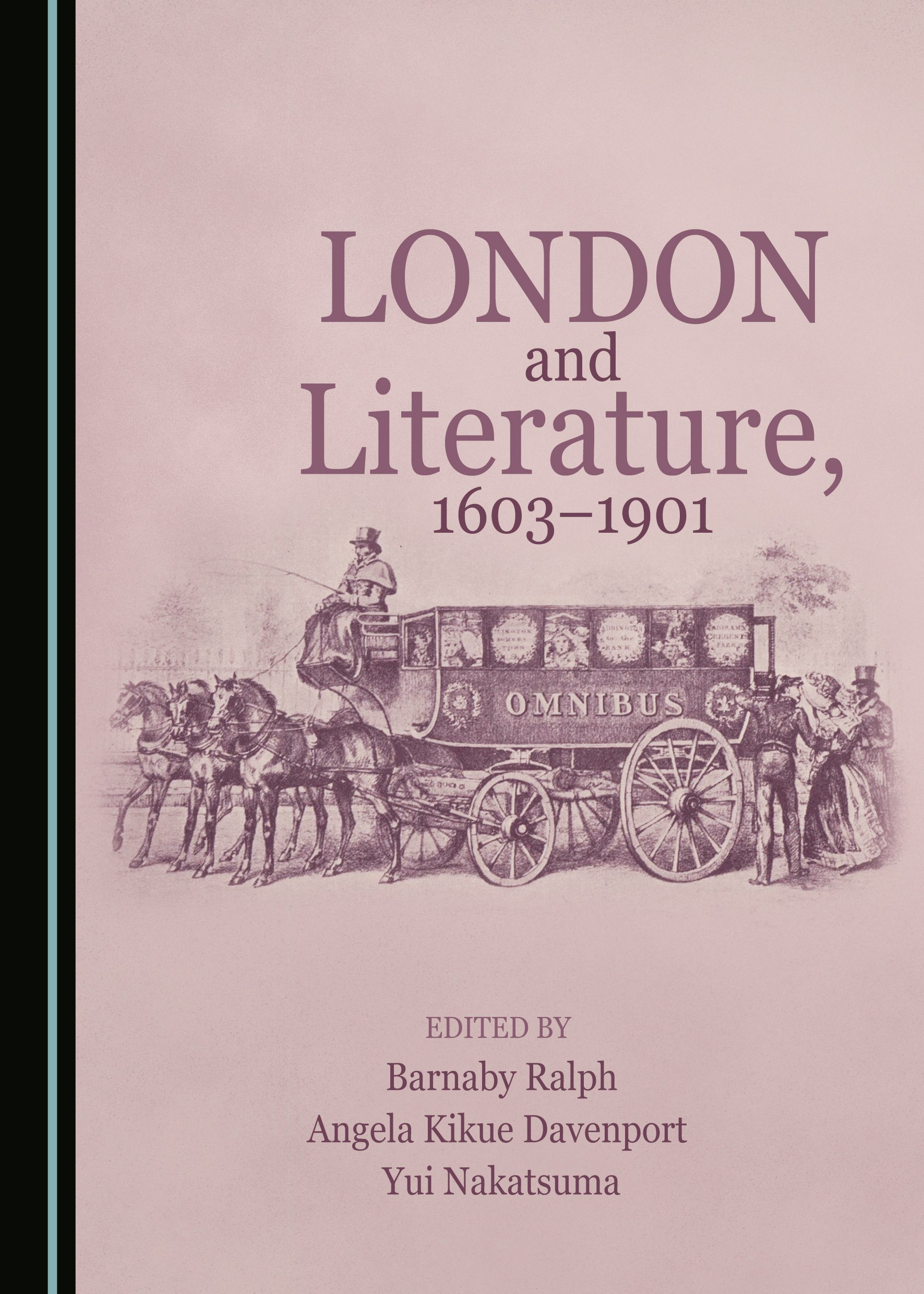 London and Literature, 1603-1901