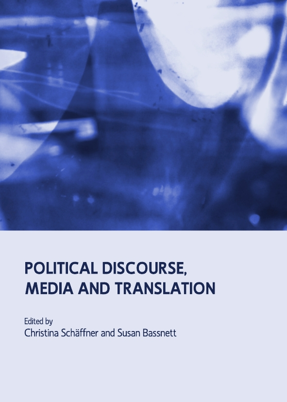 Political Discourse, Media and Translation
