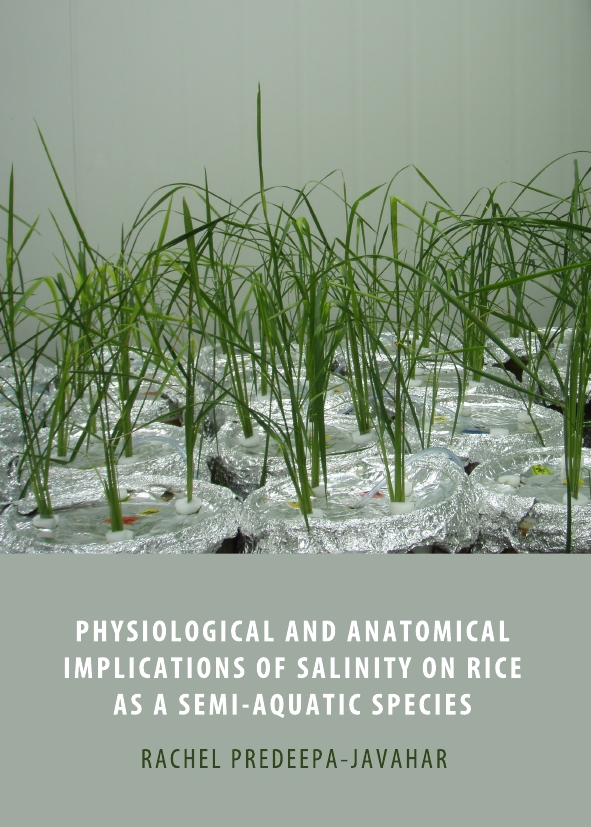 Physiological and Anatomical Implications of Salinity on Rice as a Semi-Aquatic Species