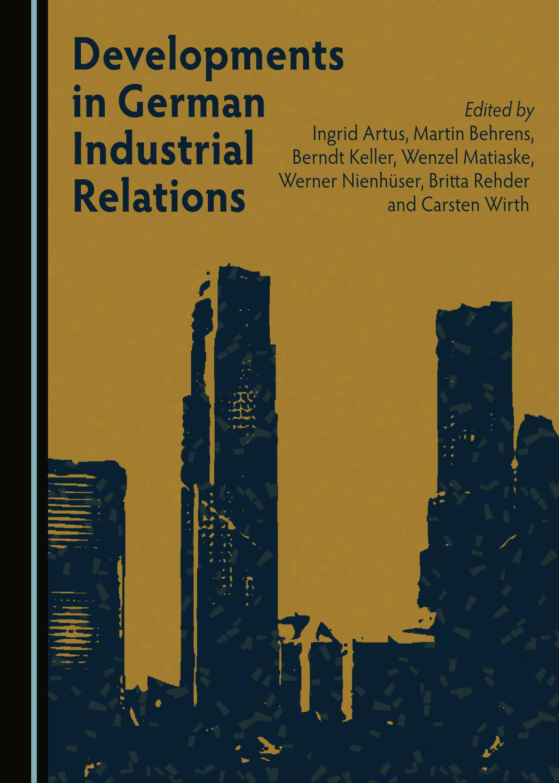 Developments in German Industrial Relations