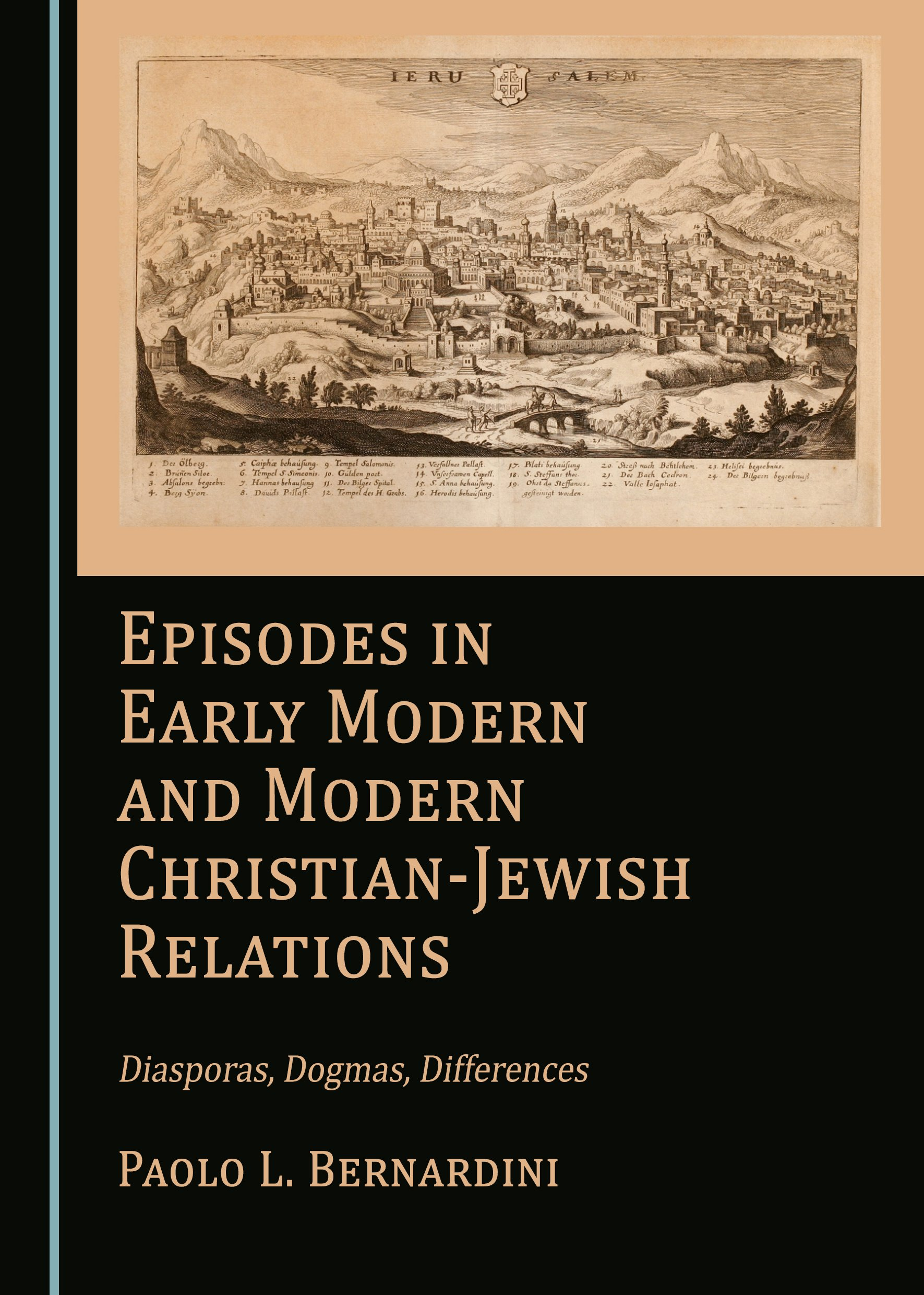 Episodes in Early Modern and Modern Christian-Jewish Relations: Diasporas, Dogmas, Differences