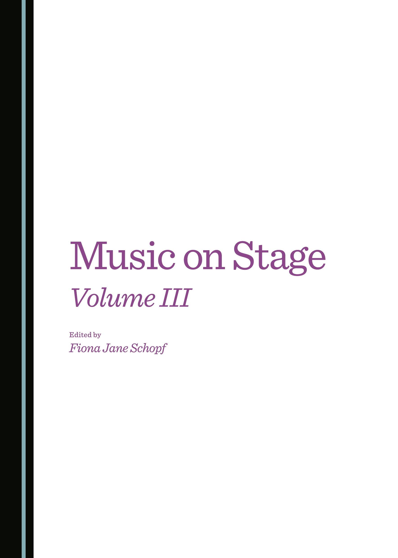 Music on Stage Volume III