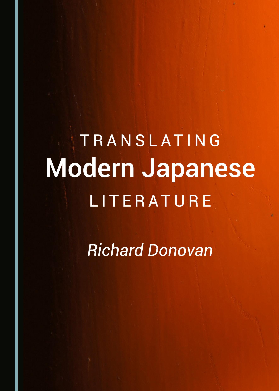 Translating Modern Japanese Literature